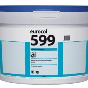 Клей для плитки на впитывающие и не впитывающие влагу основания 599 (10 кг/20 кг)